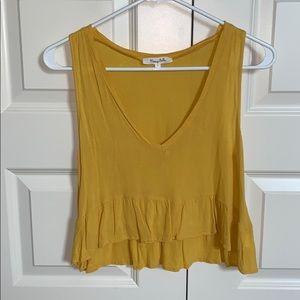 Yellow / gold Honey Belle tank top